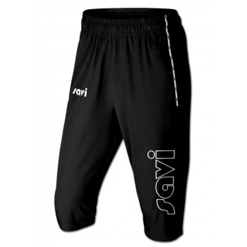 Black Three Quarter Pants