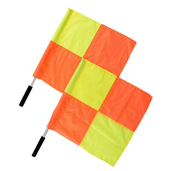 Set Of Referee Flags