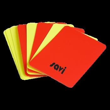 Set De 8 Cartons Pour Arbitre