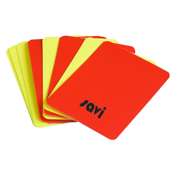 Set Of 8 Referee Cards