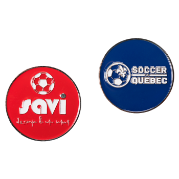 Soccer Quebec Referee Coin