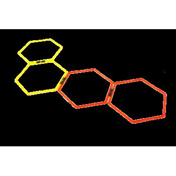 Cerceaux Hexagonaux Set De 12